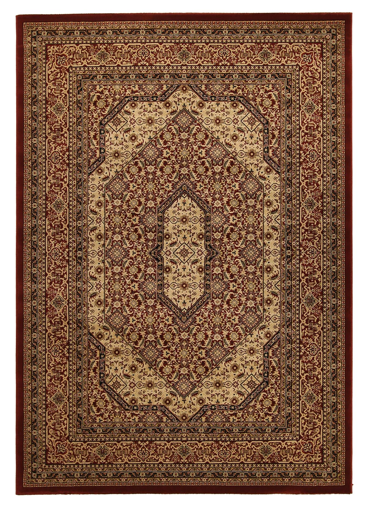Buy rugs new york 961 red traditional rug rugspot for Cheap persian rugs nyc