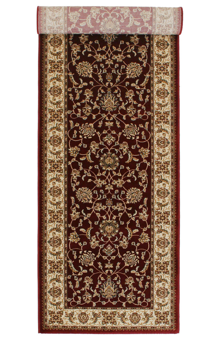 Buy Rugs Online Brilliant 620 Red Traditional Rug Rugspot