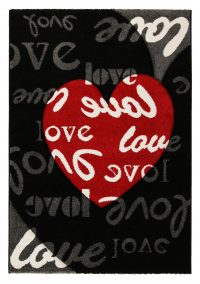 California Love Black Kids Rug