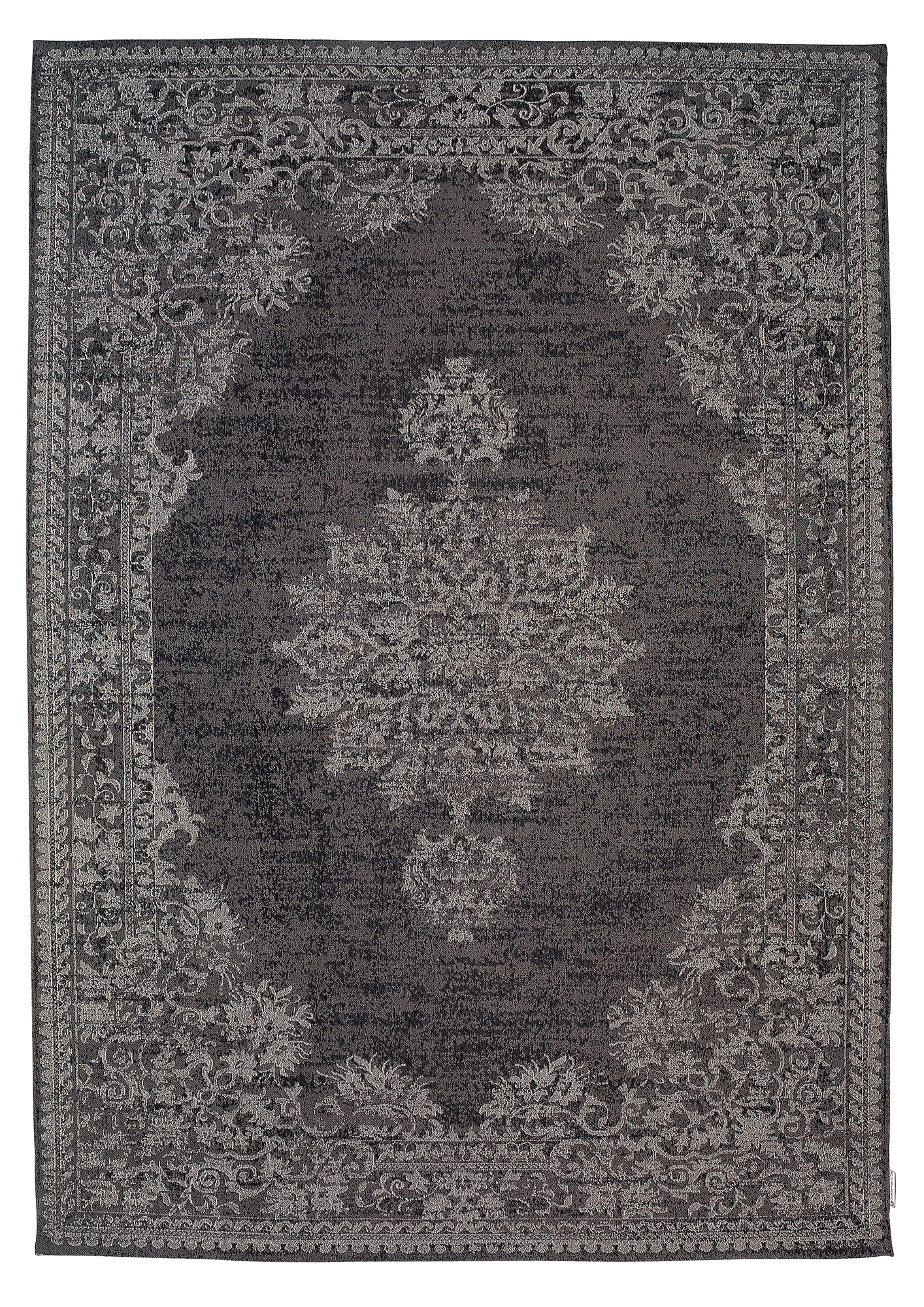 Cape 600 Charcoal Modern Synthetic Rug