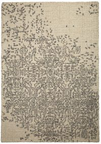 Matrix 658 Beige Wool Modern Rug