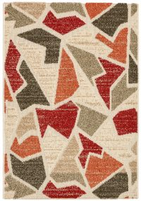 Natura 503 Red Modern Rug