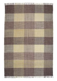 Oxford 189 Beige Modern Cotton Rug