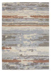 Polo 273 Blue Modern Wool Rug
