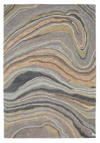 Polo 201 Multi Modern Wool Rug